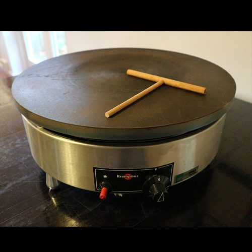 Leje af pandekagepande, enkelt (diameter 48 cm)
