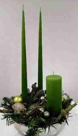 Lørdag d. 18. december fra kl. 14.00 til kl. 17.00 – Julebuket eller dekoration til julebordet