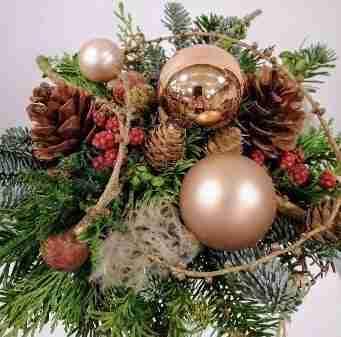 Tirsdag d. 7. december fra kl. 18.00 til kl. 21.00 – Juledekoration eller julebuket